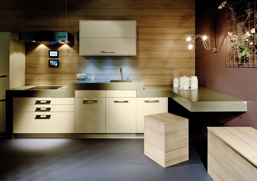 Piatti Kitchen Designed by Bruno Piatti AG, fabricated by To